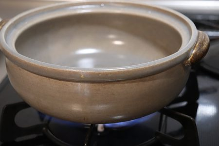 土鍋の乾燥