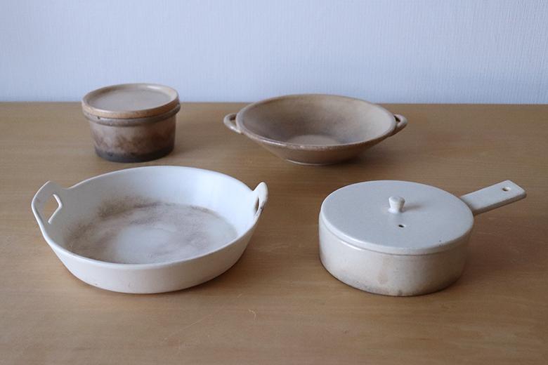 耐熱陶器の経年変化