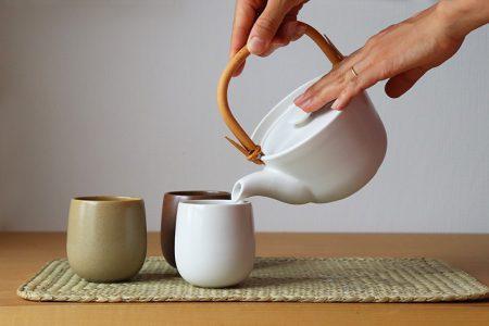 tish pot -ice green tea-