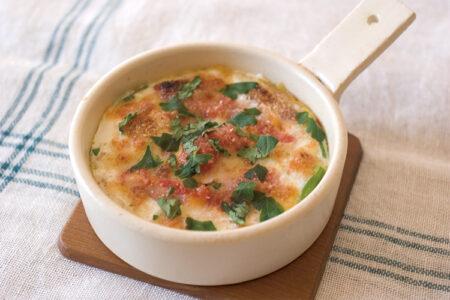 モッツァレラチーズの目玉焼き