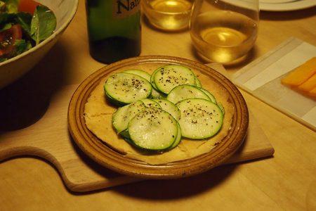 ズッキーニのサラダタルト -noce 6.5inch plate-