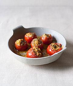 トマトのミートソース詰め