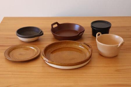 目止めの仕方 – 耐熱陶器 –