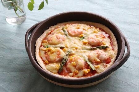 カセロラグリルパン – ピザ –